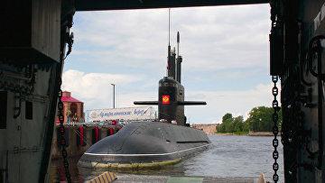 """Дизельная подводная лодка """"Санкт-Петербург"""""""
