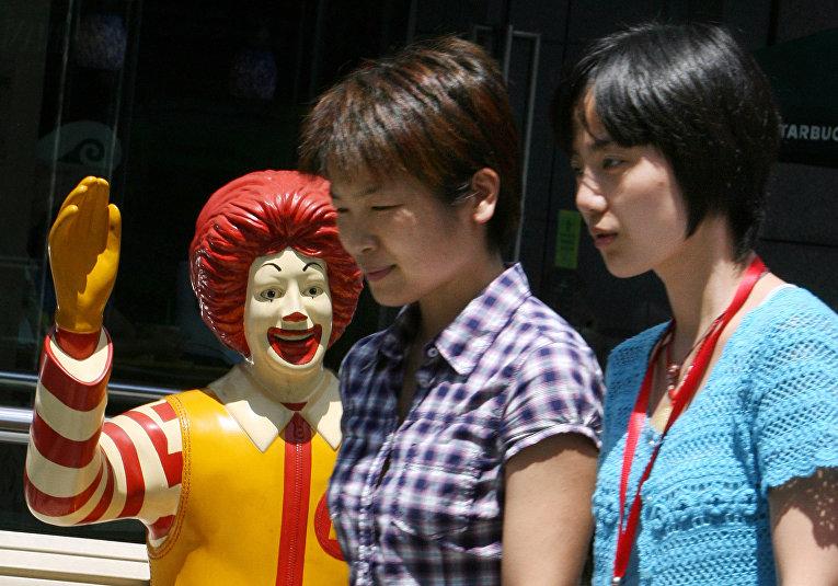 Ресторан McDonald's в Шанхае