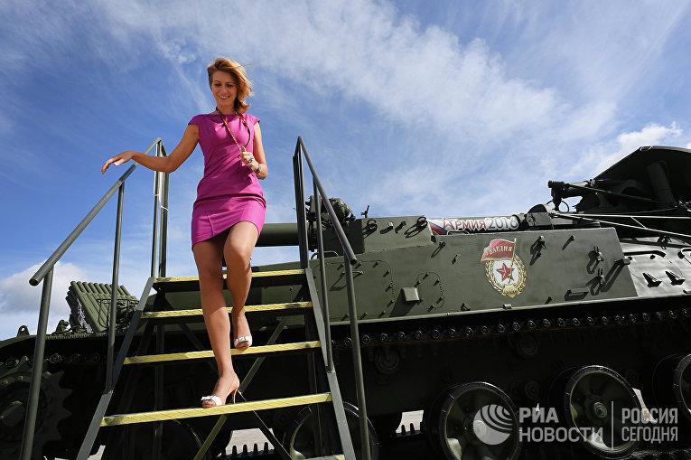 Самоходный миномет 2С4 Тюльпан в Военно-патриотическом парке культуры иотдыха Вооруженных сил РФ«Патриот»
