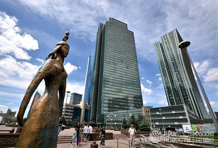 Города мира. Астана.
