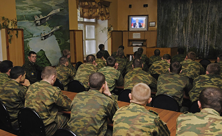 В одной из воинских частей Новгородской области