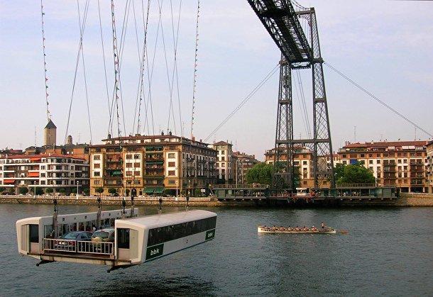 Мост-транспортер в Бильбао