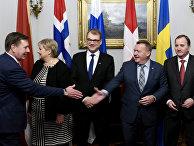 Премьер-министры стран Северной Европы