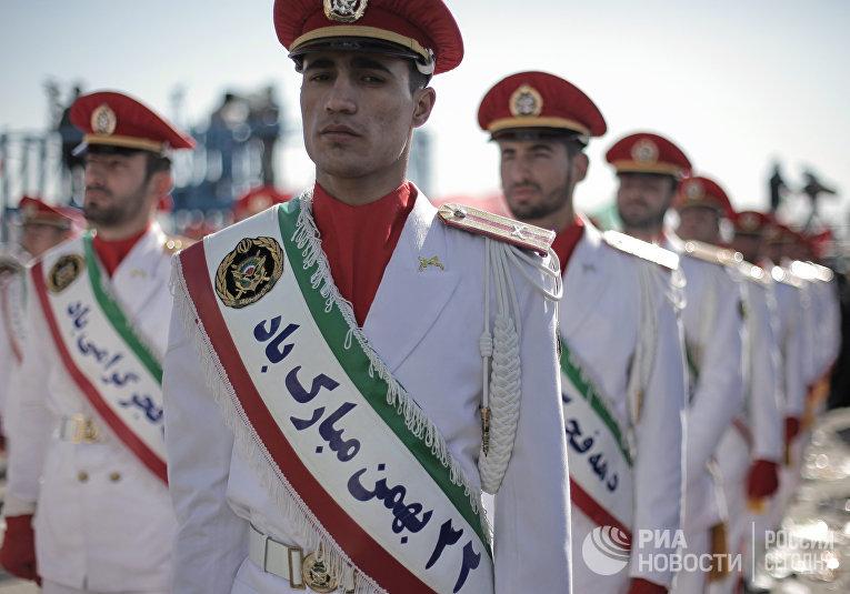 Корпус стражей исламской революции в Тегеране