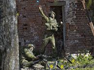 """Силы обороны Эстонии во время военных учений """"Весенний шторм"""""""