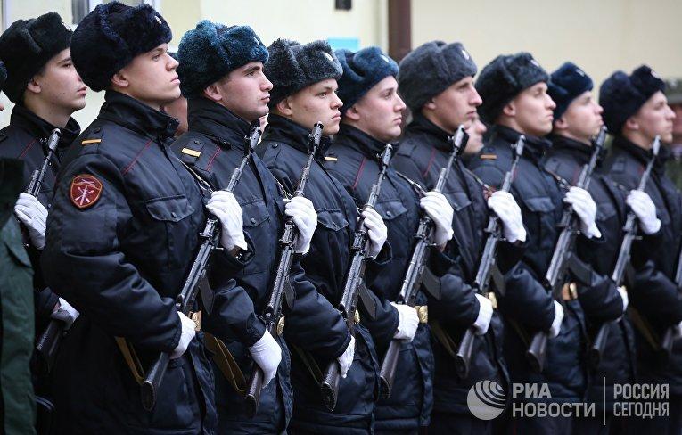 Открытие памятника герою Великой Отечественной войны Николаю Мамонову в Калининграде