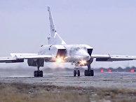 Бомбардировщик-ракетоносец Ту-22 М3 Военно-космических сил России