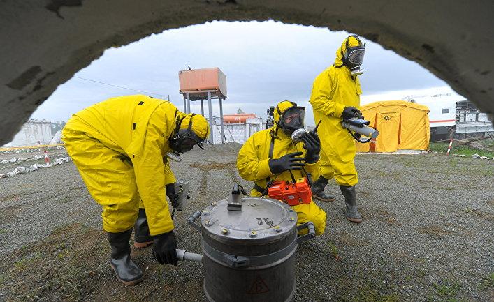 Учения имитирующие ЧС на объекте атомной отрасли ПО «Маяк»