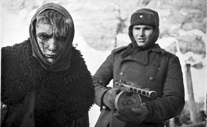 В плену. Сталинград 1943 год