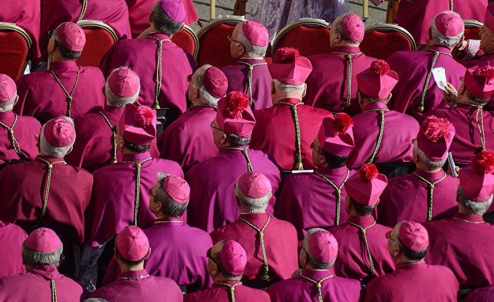 Церемония интронизации Папы Римского Франциска