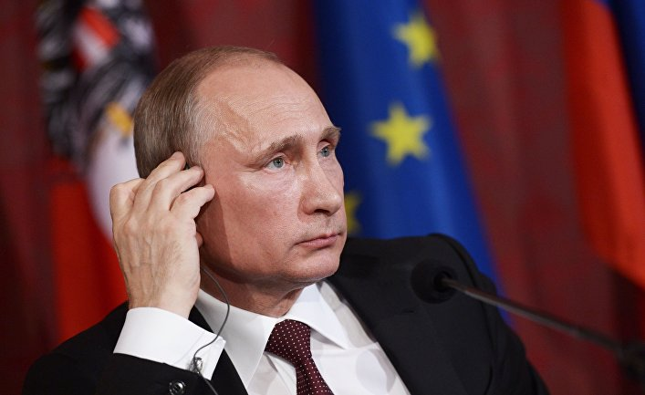 Официальный визит В.Путина в Австрию