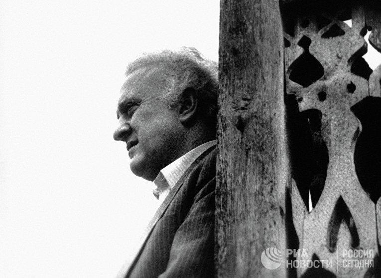 Советский и грузинский политический, государственный деятель Эдуард Амвросиевич Шеварднадзе