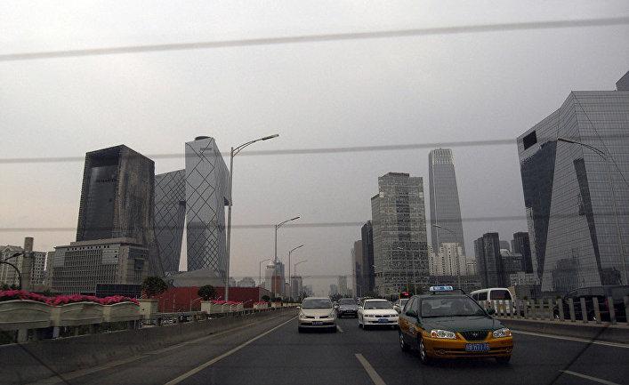 Дорога в Пекине