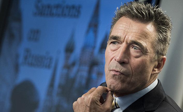 Бывший генеральный секретарь НАТО и бывший премьер-министр Дании Андерс Фог Расмуссен