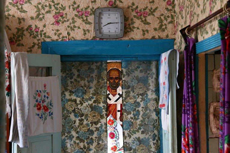 В доме в Белорусской деревне Погост