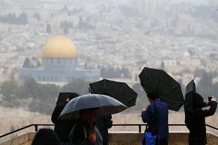 Туристы в Иерусалиме, Израиль
