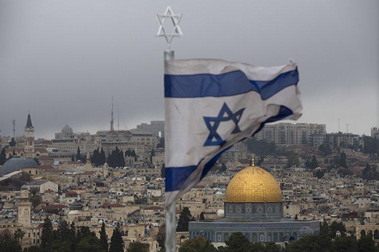 Вид на Старый город в Иерусалиме с Елеонской горы