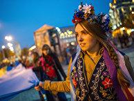Марш в честь дня образования Украинской Повстанческой армии прошел в Киеве