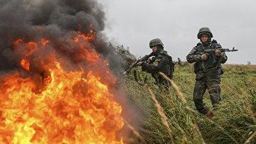 Российские военные учения под Калининградом