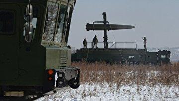 Тренировка ракетных и артиллерийских подразделений пятой армии ВВО