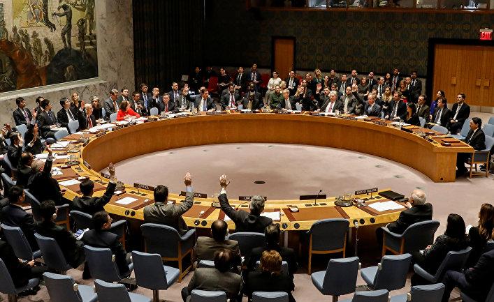 Голосование в ООН по поводу статуса Иерусалима в Нью-Йорке