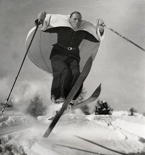 Лыжи и парус