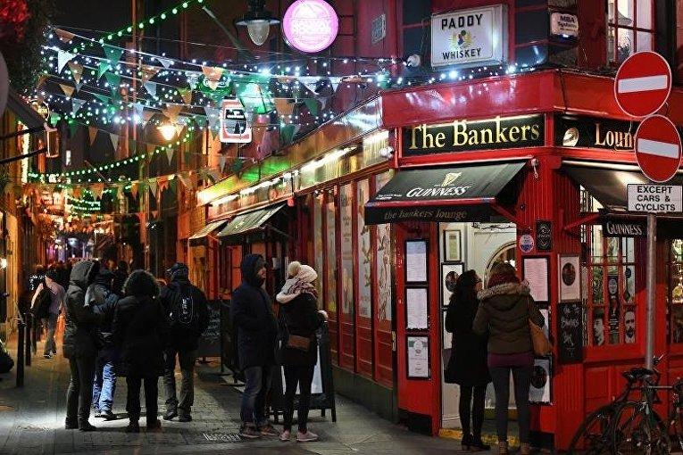 Гуляния в Дублине