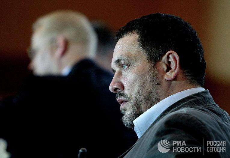 Российский журналист, член Совета по правам человека при президенте России Максим Шевченко
