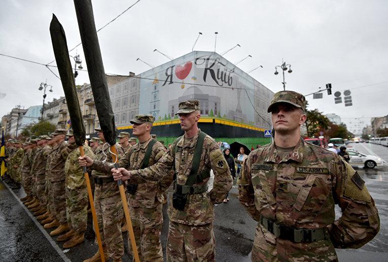 Американские военные в Киеве