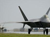Истребитель F-22 Raptor компании Lockheed Martin