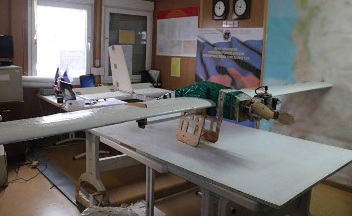 Беспилотник террористов, атаковавший военные базы в Хмеймиме и Тартусе