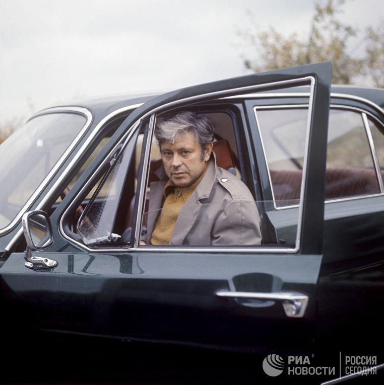 Актер Донатас Банионис