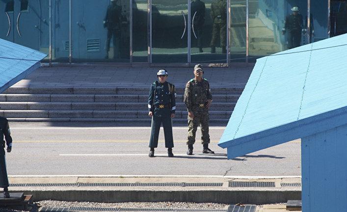 Южнокорейские солдаты