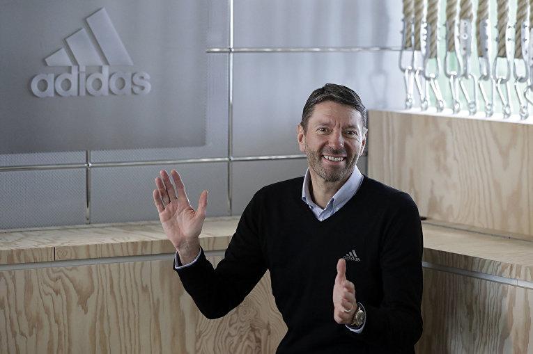 Глава компании «Адидас» (Adidas) Каспер Рорштед (Kasper Rorsted)