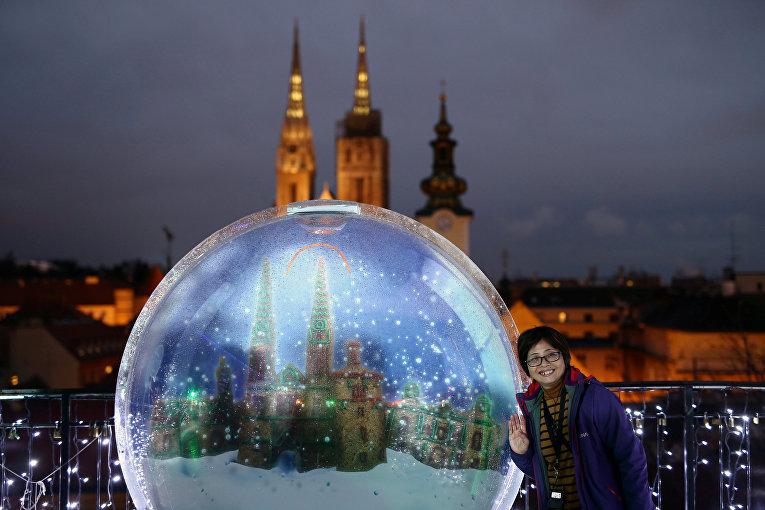 Рождественская ярмарка в Загребе