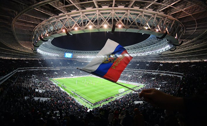 Футбол. Товарищеский матч. Россия - Аргентина