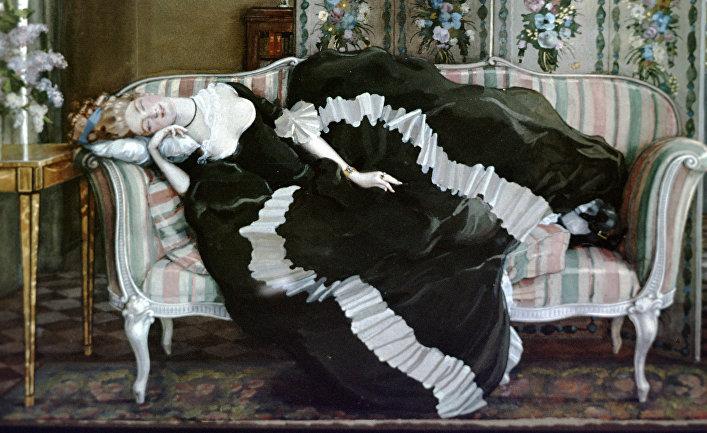 """Репродукция картины """"Спящая молодая женщина"""""""
