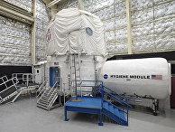 Исследовательский модуль НАСА в космическом центре Джонсона в Хьюстоне