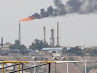 Нефтяные объекты на Харк в Иране