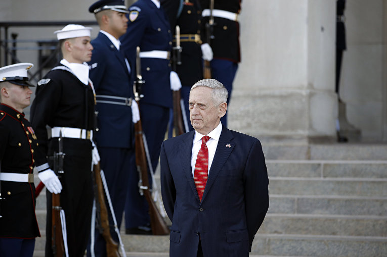 Министр обороны США Джим Мэттис