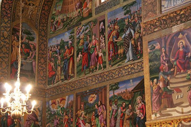 Собор Святого Христа Всеспасителя (Ванкский собор) в Иране