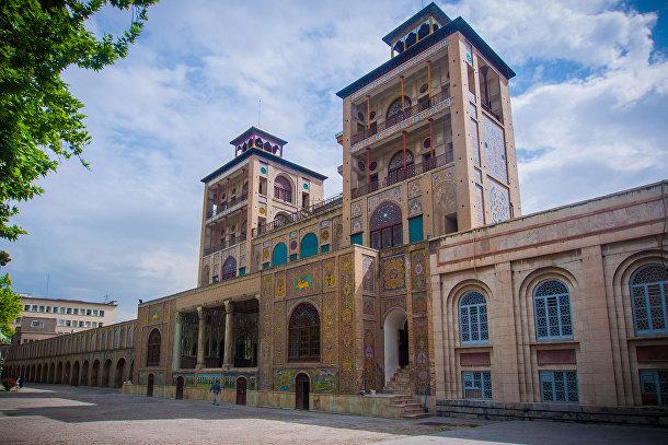 Дворец Голестан в Иране