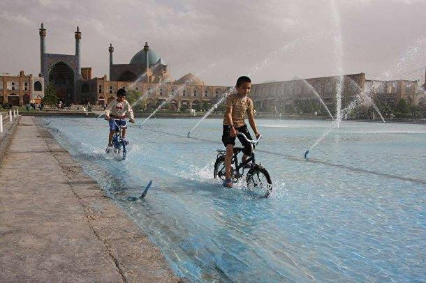 Площадь Имама в Иране