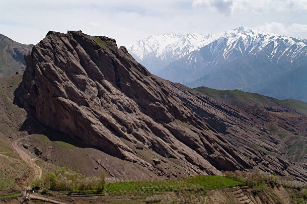 Долина Аламут в Иране