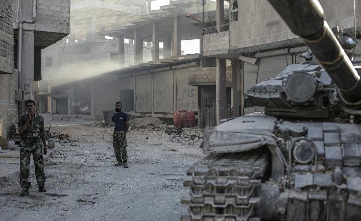 Ситуация в сирийском городе Гута