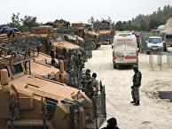 Турецкие военные в Африне