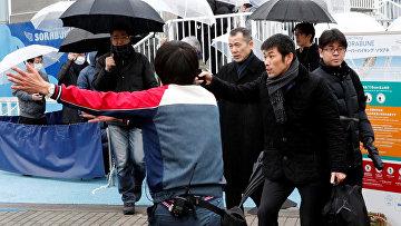 Тренировочная эвакуация посетителей парка развлечений Tokyo Dome City