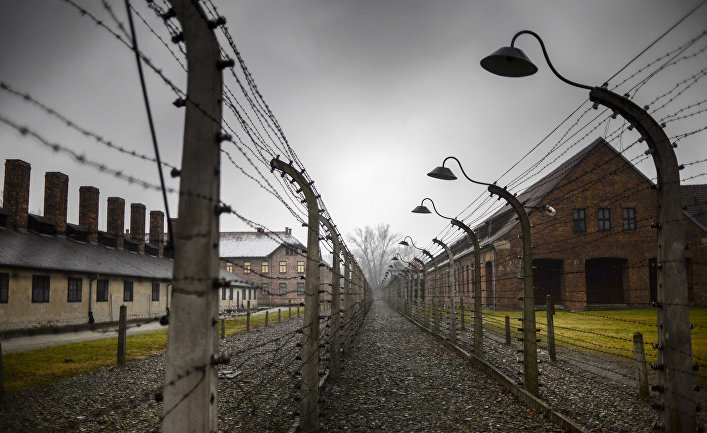 Концентрационный лагерь Аушвиц-Биркенау в Освенциме, Польша