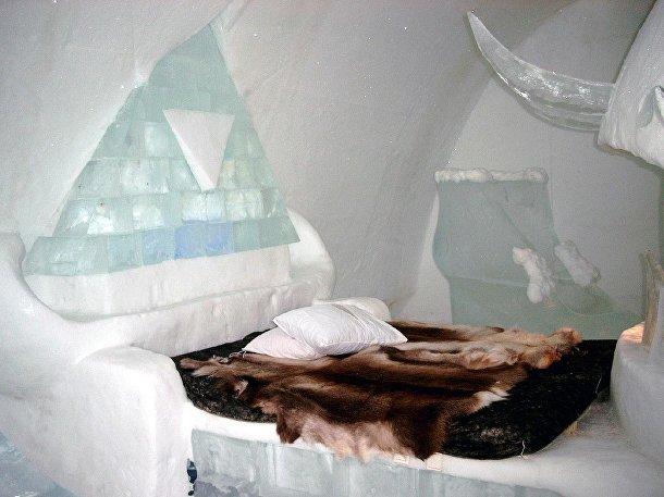 Ice Hotel в Швеции