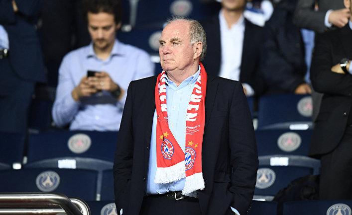 Президент ФК «Бавария» Ули Хенесс